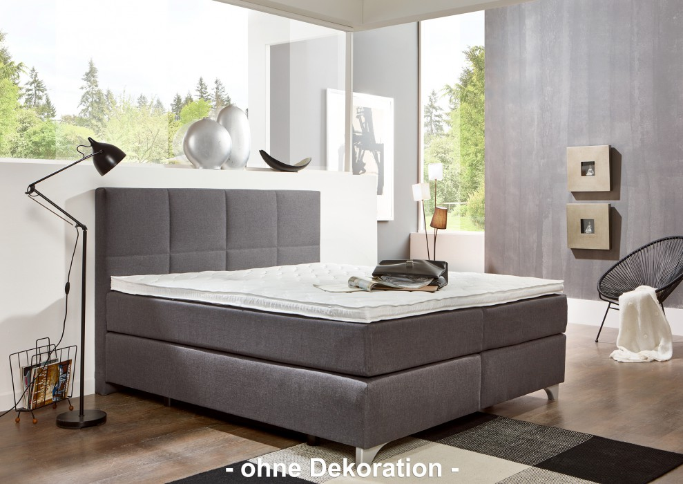 breckle boxspringbett arga preime 200x220 cm inkl topper. Black Bedroom Furniture Sets. Home Design Ideas