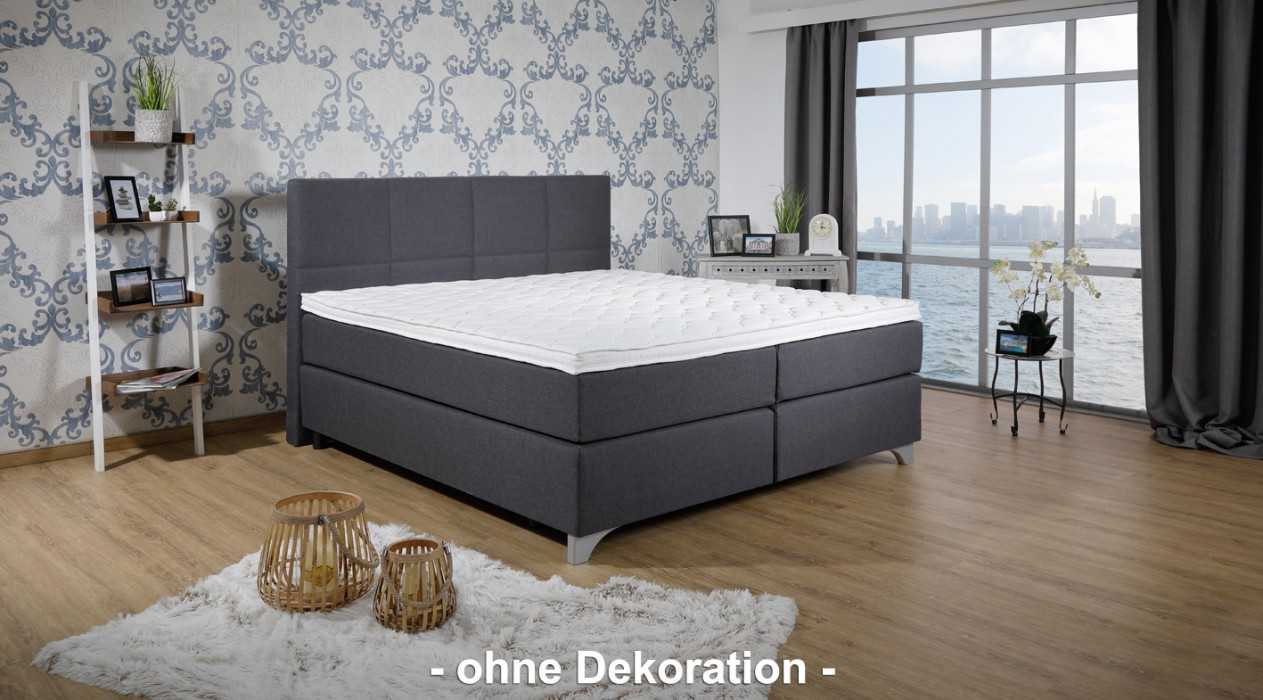 breckle boxspringbett arga preime 200x220 cm inkl topper 3700 gelschaum hersteller breckle. Black Bedroom Furniture Sets. Home Design Ideas