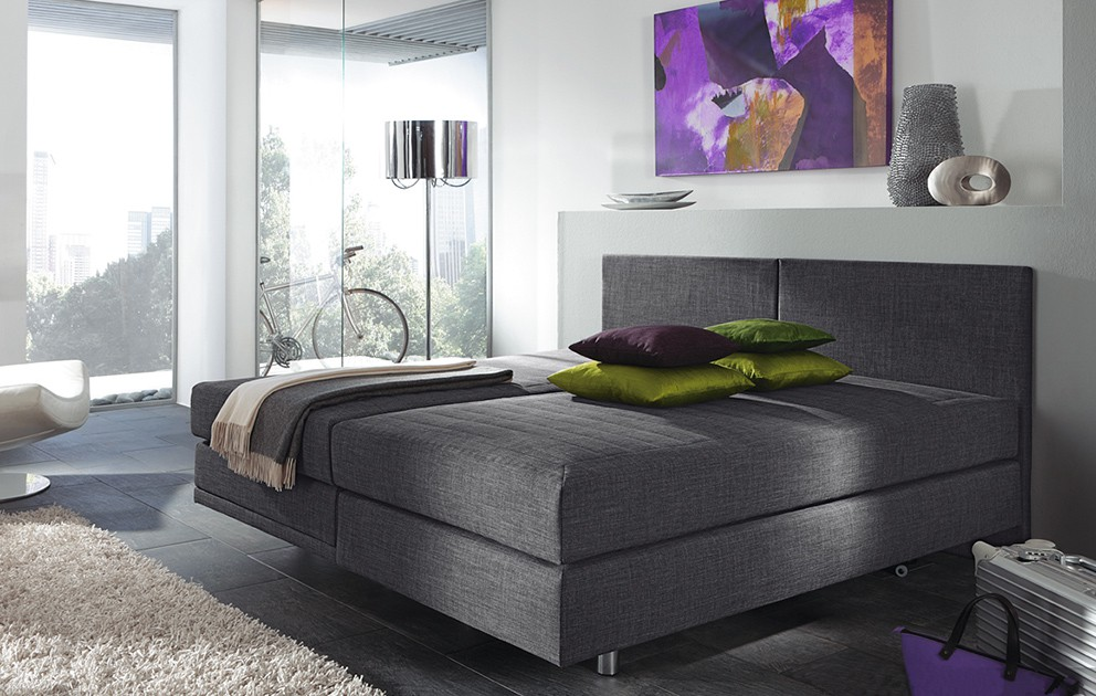 femira boxspringbett melissa alcantara 80x200 cm individuell konfigurierbar hersteller femira. Black Bedroom Furniture Sets. Home Design Ideas