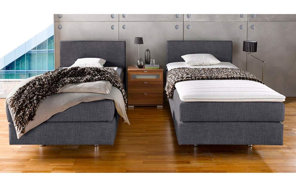 femira boxspringbett melissa alcantara 100x200 cm. Black Bedroom Furniture Sets. Home Design Ideas