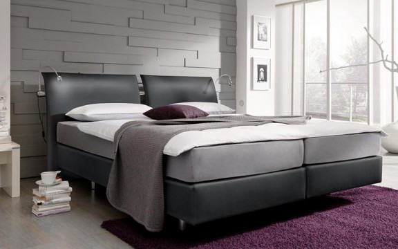 boxspringbetten modern alles ber wohndesign und m belideen. Black Bedroom Furniture Sets. Home Design Ideas
